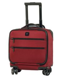 Victorinox - Red Victorinox Swiss Army 'lexicon' Dual Caster Wheeled Boarding Tote for Men - Lyst