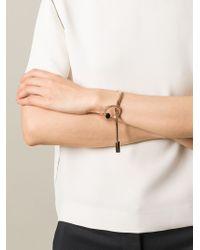 Lara Bohinc | Metallic 'schumacher' Loop Bracelet | Lyst