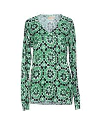 MICHAEL Michael Kors - Green Sweater - Lyst