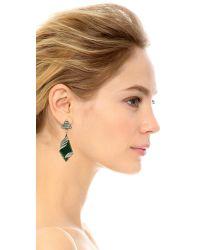 Lulu Frost - Reflection Earrings - Blue/clear - Lyst