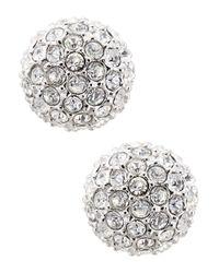 Nadri | Metallic Small Stud Earrings | Lyst