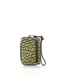 Alexander Wang - Yellow Large Fumo In Contrast Tip Citron - Lyst