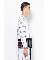 3.1 Phillip Lim - Multicolor Long Sleeve Pullover With Framed Seams for Men - Lyst