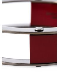Erika Cavallini Semi Couture - Red Multi Blocks Bracelet - Lyst