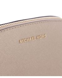 MICHAEL Michael Kors | Metallic Alex Travel Pouch | Lyst