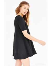 Silence + Noise | Black Mercy Seamed Swing Dress | Lyst