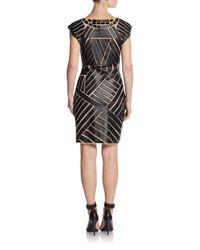 Catherine Malandrino | Black Avalon Mesh Dress | Lyst