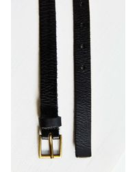 BDG - Black Thin Square Buckle Belt - Lyst