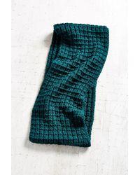 Urban Outfitters - Blue Boyfriend Knit Eternity Scarf - Lyst