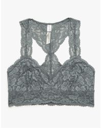 Need Supply Co. | White Galloon Lace Racerback Bra | Lyst