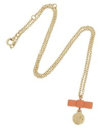 Marc By Marc Jacobs | Metallic Charmed Gold Tone Necklace | Lyst