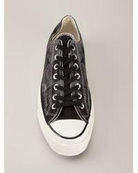Converse - Black Soup-Print Sneakers for Men - Lyst