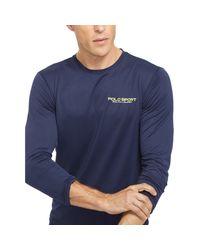 Ralph Lauren   Blue Performance Jersey T-shirt for Men   Lyst