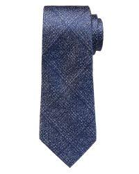 Banana Republic   Blue Plaid Silk Tie for Men   Lyst
