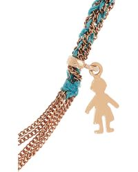 Carolina Bucci | Blue Lucky Baby Boy Bracelet | Lyst
