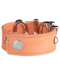 BCBGeneration - Orange Big Pastel Affirmation Bracelet - Lyst