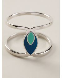 Hipanema | Blue 'twist' Ring | Lyst