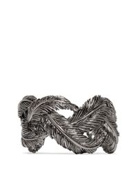 Valentino | Gray Feather Cuff | Lyst