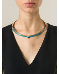 Aurelie Bidermann - Blue 'Apache' Necklace - Lyst