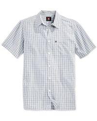 Quiksilver | Blue Little Harbor Short-sleeve Shirt for Men | Lyst
