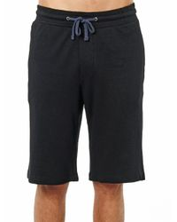 James Perse - Black French-terry Shorts for Men - Lyst