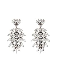DANNIJO | Metallic Leigh Earrings | Lyst