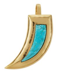 Stephanie Kantis - Blue Crush Mammoth Turquoise Pendant - Lyst