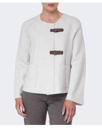 Oska | White Wool Lioba Jacket | Lyst