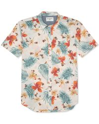 Billabong | Multicolor Bromuda Floral-print Short-sleeve Button-down Shirt for Men | Lyst