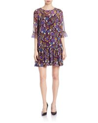 Kensie - Multicolor Printed Dress - Lyst