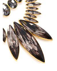 Ca&Lou | Metallic Alexa 24Kt Gold Plated Swarovski Necklace | Lyst