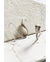 Urban Outfitters | Metallic Python Companion Drop Earring | Lyst