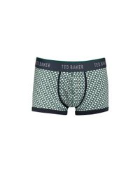Ted Baker | Green Moneta Swan Boxer Briefs for Men | Lyst