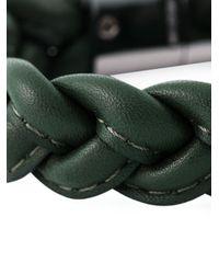 Valentino | Green Braided Bracelet for Men | Lyst