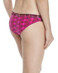 Maaji - Pink Signature-cut Reversible Swim Bottom - Lyst