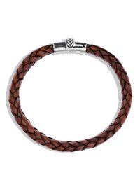 David Yurman | Metallic Frontier Bracelet In Brown for Men | Lyst