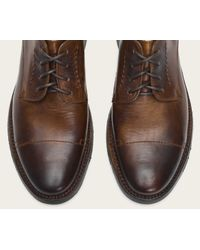 Frye | Brown Oliver Oxford for Men | Lyst