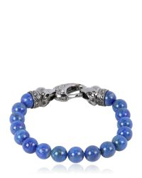 Stephen Webster | Blue Raven Head Lapis Bracelet | Lyst