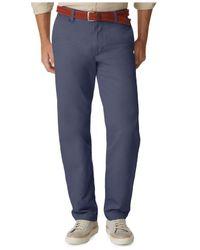 Dockers | Blue D3 Classic Fit Field Khaki Flat Front Pants for Men | Lyst