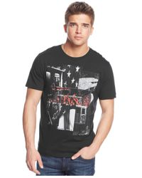 DKNY - Black American Underground T-Shirt for Men - Lyst