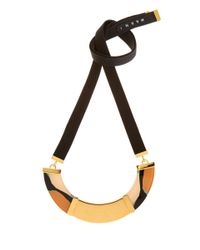Marni | Metallic Gold-Tone Resin Bib Necklace | Lyst