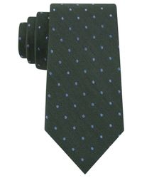 Tommy Hilfiger | Green Tonal Dot Tie for Men | Lyst