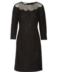 Boutique Moschino - Black Lace Dress - Lyst