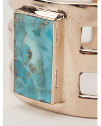 Pamela Love | Metallic Inlay Cage Cuff | Lyst