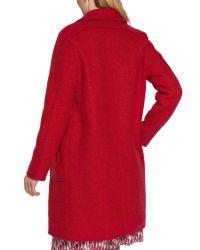 Sandwich - Red Wool Coat - Lyst