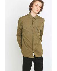 Urban Outfitters - Natural Barrett Khaki Over Shirt for Men - Lyst
