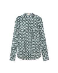 Tory Burch - Green Brigitte Shirt - Lyst