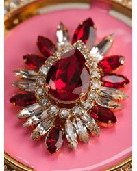 Shourouk - Pink 'gaius' Necklace - Lyst