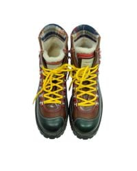 DSquared² - Yellow Saint Moritz Ankle Boot for Men - Lyst