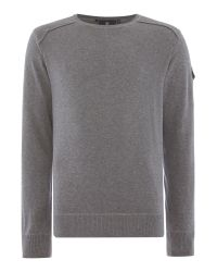 Duck and Cover | Gray Swanley-2 Crew Neck Knitwear for Men | Lyst